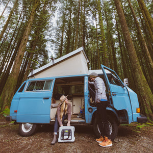 30 Can Air Cooler - lifestyle van
