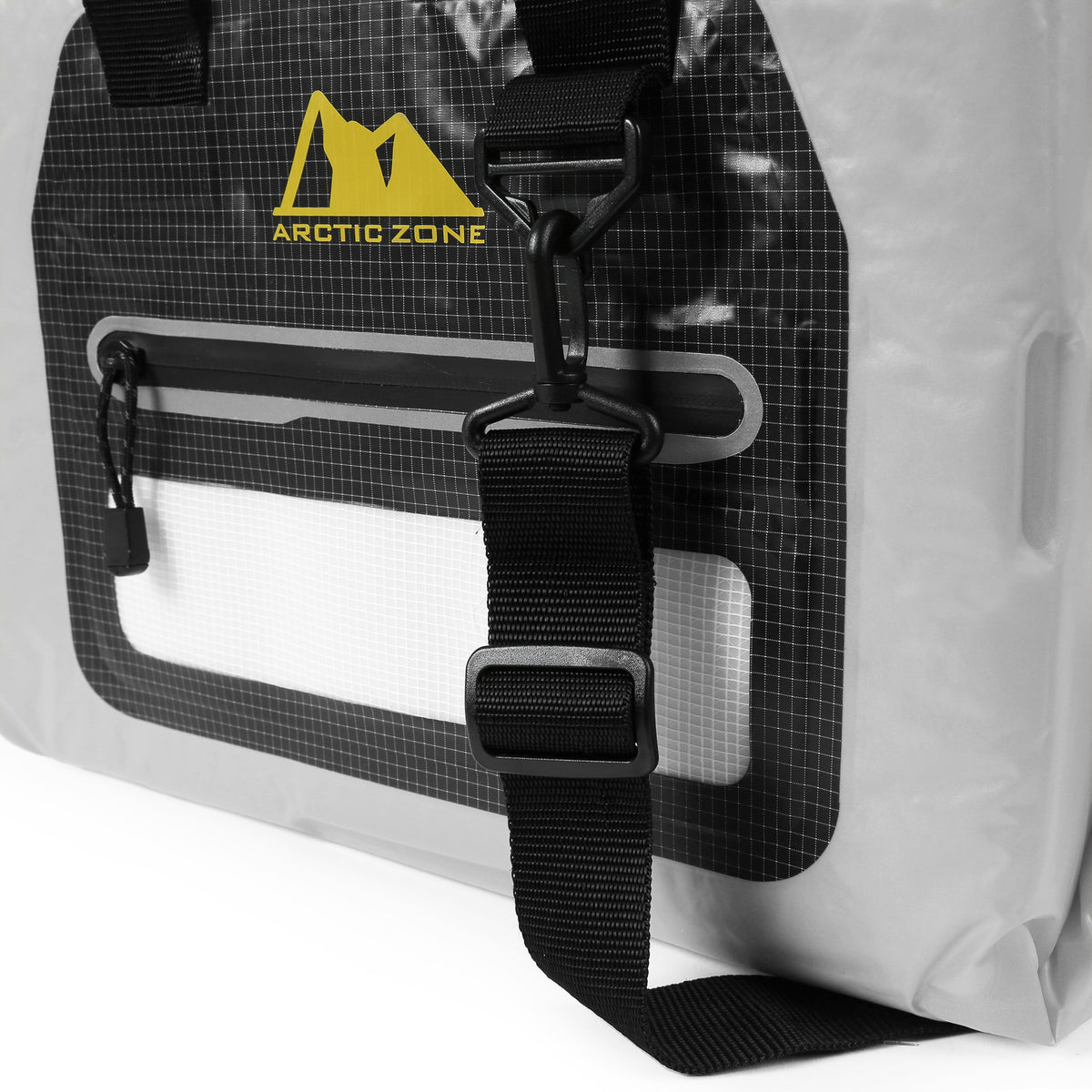 Arctic Zone® 30 Can Self-Inflating Cooler - strap detail