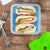 Arctic Zone® Interlockers® 3 Piece Sandwich Set - Lifestyle, packing sandwiches