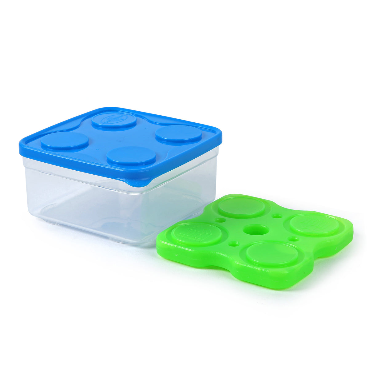 Interlockers 3 Piece Sandwich Set - Container and ice brick