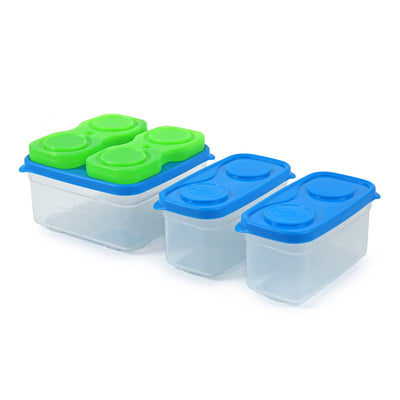 Interlockers 8 Piece Sandwich Set - 3 container row