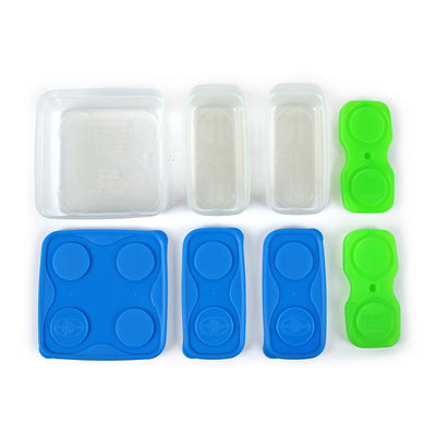 Interlockers 8 Piece Sandwich Set - all pieces