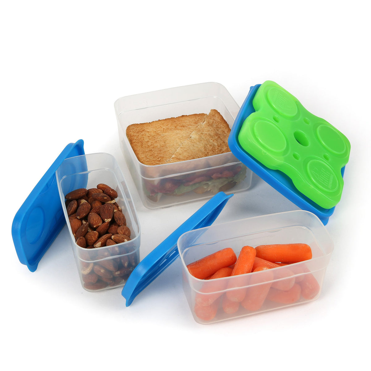 Interlockers 8 Piece Sandwich Set - propped