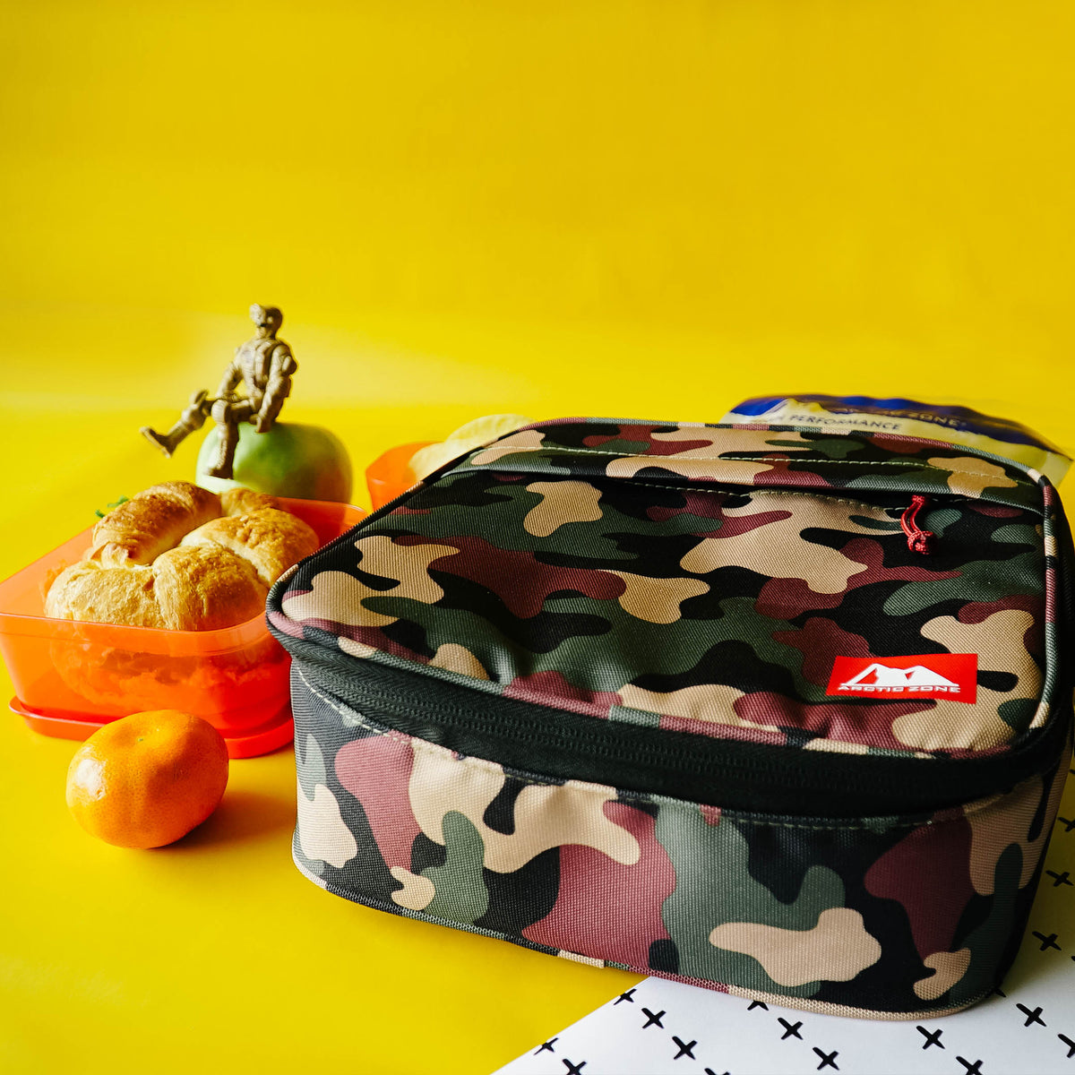 Arctic Zone® Classics Lunch Box - Camo - Lifestyle, Prepping lunch