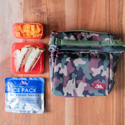 Arctic Zone® Kids Classics Lunch Sack - Camo - Lifestyle, Packing lunch