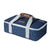 Arctic Zone® Food Pro Thermal Carrier - Navy - Front, closed