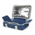 Arctic Zone® Food Pro Thermal Carrier - Navy - Open with trivet