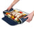 Arctic Zone® Food Pro Thermal Carrier - Navy - Trivet propped