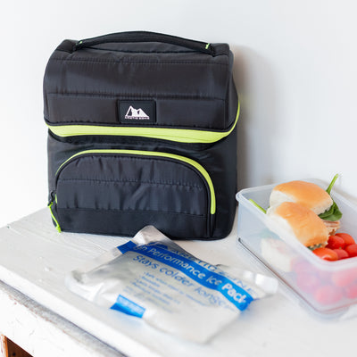 Arctic Zone® High Performance Ultimate Secret Lunch Bucket - Black - Lifestyle, packing a healthy lunch