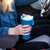 Arctic Zone® 20oz Super Chug™ Stainless Steel - Blue - Lifestyle, bringing the tumbler into the car