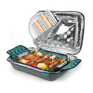 Food Pro Deluxe Thermal Carrier - Open propped