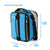 "Titan Deep Freeze® Expandable Lunch Box - Blue - Dimensions (Expanded): (L x D x H) 8.75"" x 5.75"" x 11.00"""