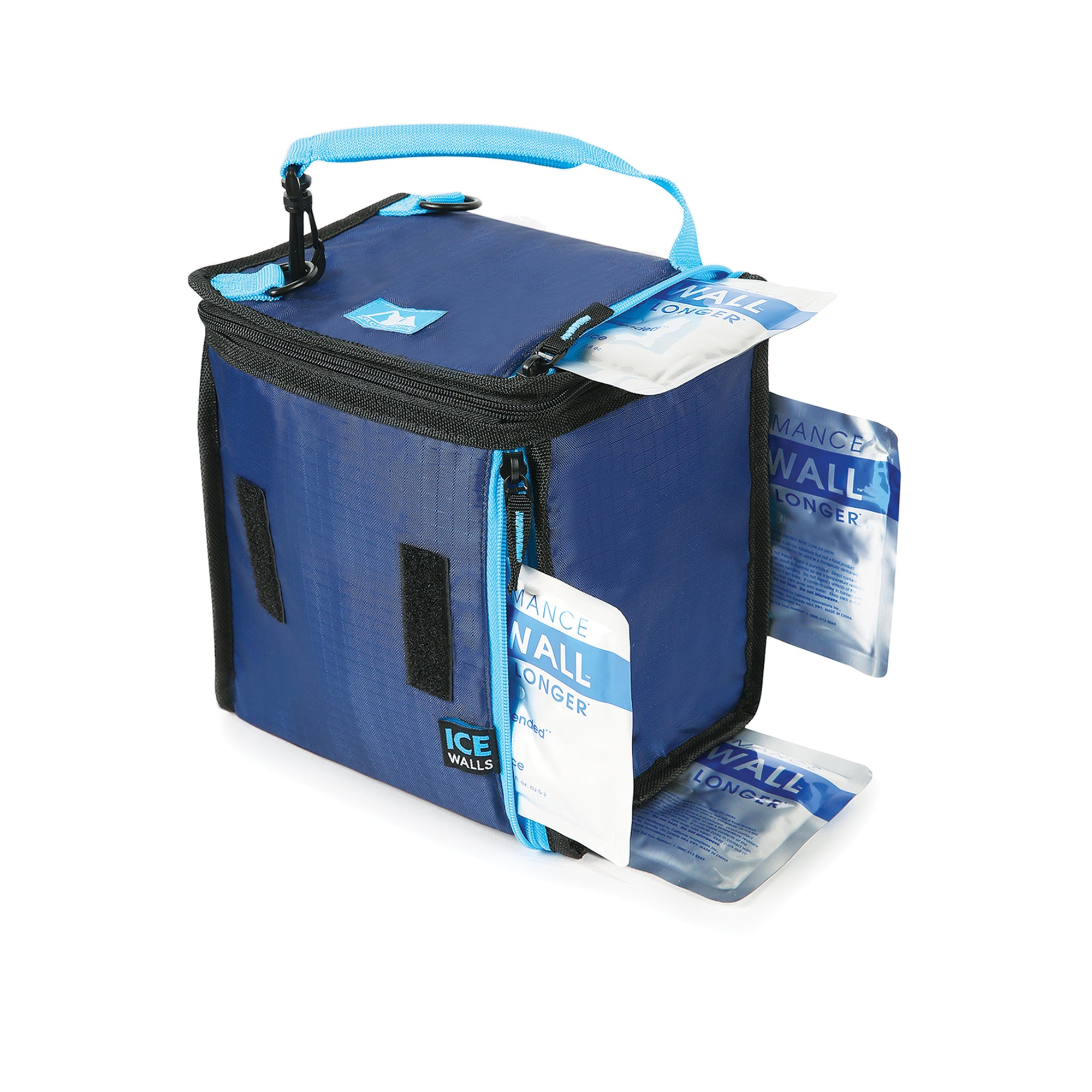 Mega MunchSak® With 4 Ice Walls® - ice walls inserted in lunch bag