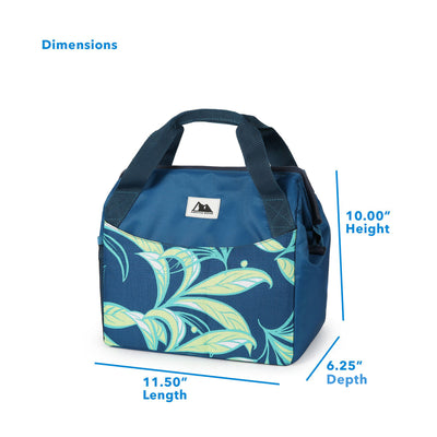 "Arctic Zone® High Performance Meal Prep Lunch Bag M.D. - Leafy Lime - Dimensions (L x D x H) 11.50"" x 6.25"" x 10.00"""