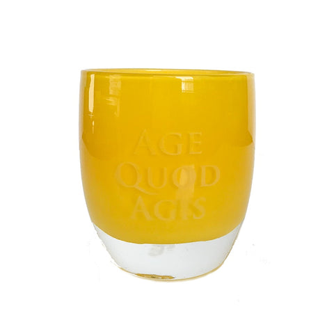 glassybaby, Yellow, AGE