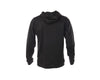 Black Performance Hoodie with Chrome JESUIT