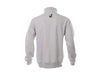 Gray Quarter-zip Pullover Sweatshirt
