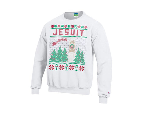 White Christmas sweatshirt