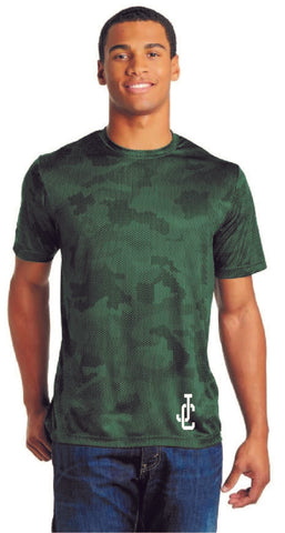 Tee, Green, Camo JC  FINAL SALE