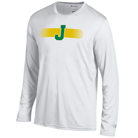 Tee, LS, Men's, Athletic,  White