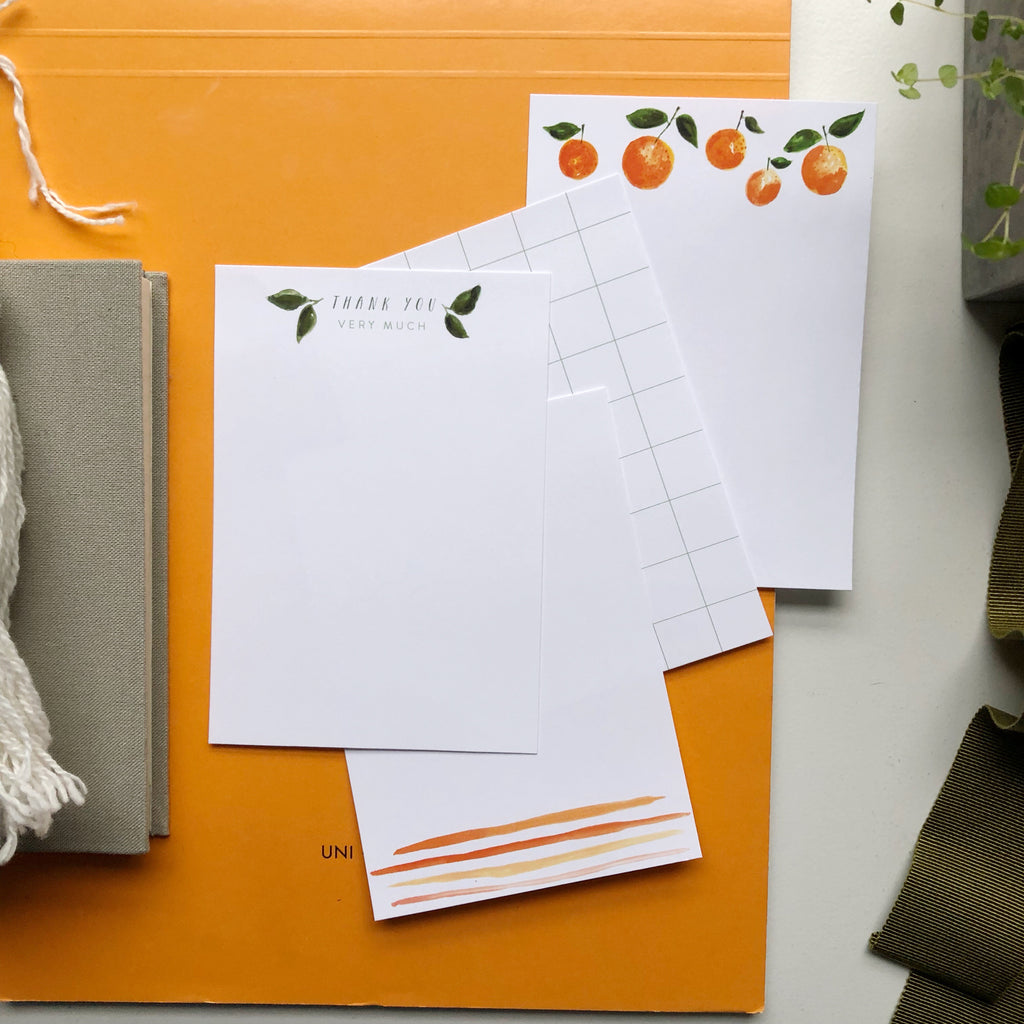 Clementine Note Cards