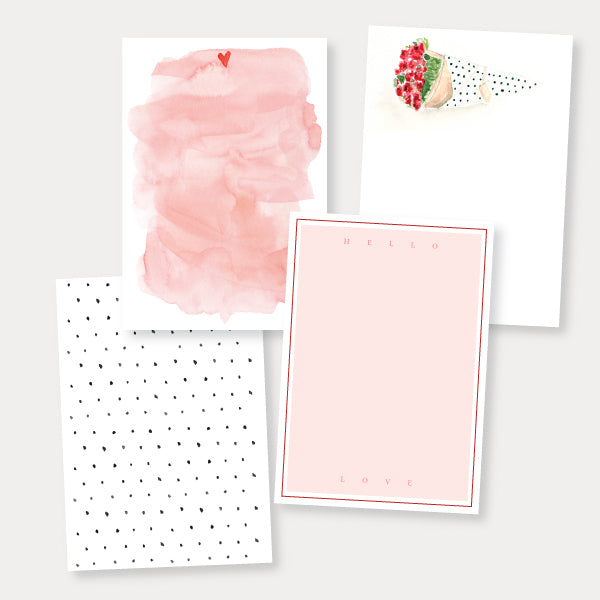 Bouquet Note Cards