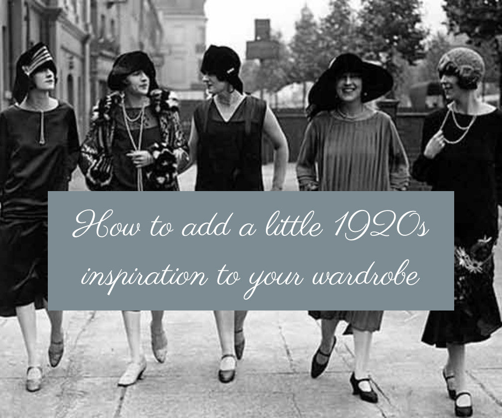 How To Add a Little 20s Inspiration to Your Wardrobe in 2020