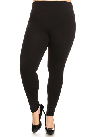 L Fleece Line Leggings (cg)