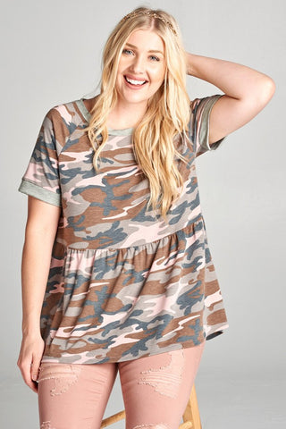 Jane Camo Tunic (cg)
