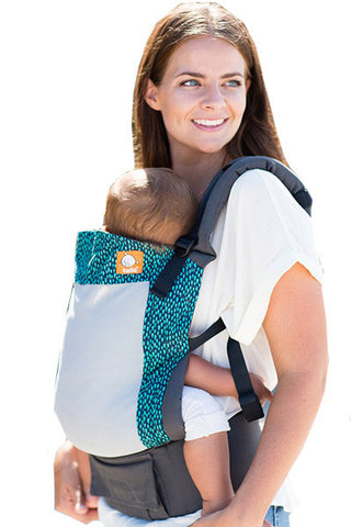 Tula Coast Toddler Carrier - Luxe Carriers, Soft Structured Carrier, Tula, Luxe Carriers, babywearing, BabywearingUAE, baby carriers, baby carriers Dubai, baby slings, baby wraps