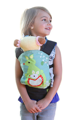 Boba Mini Doll Carrier - Luxe Carriers, Accessories, Boba, Luxe Carriers, babywearing, BabywearingUAE, baby carriers, baby carriers Dubai, baby slings, baby wraps