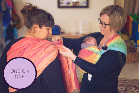 One on One Consultation - Luxe Carriers, Consultation, Luxe Carriers, Luxe Carriers, babywearing, BabywearingUAE, baby carriers, baby carriers Dubai, baby slings, baby wraps
