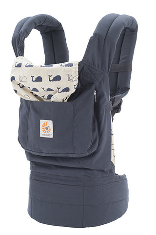 Ergobaby Original Baby Carrier - Luxe Carriers, Soft Structured Carrier, Ergobaby, Luxe Carriers, babywearing, BabywearingUAE, baby carriers, baby carriers Dubai, baby slings, baby wraps