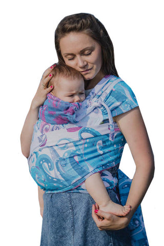 Lenny Lamb Wrap Tai - Luxe Carriers, Woven Wrap, Lenny Lamb, Luxe Carriers, babywearing, BabywearingUAE, baby carriers, baby carriers Dubai, baby slings, baby wraps