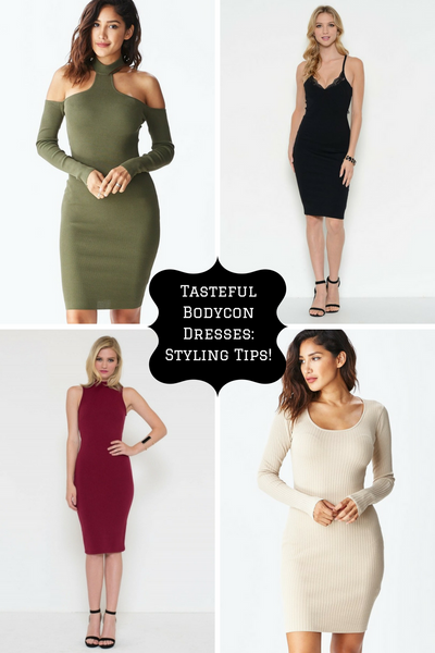 Tasteful Bodycon Dresses: Styling Tips