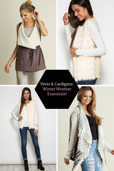 Vests and Cardigans: Winter Wardrobe Staples