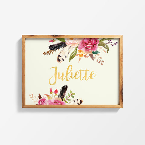 "A3 poster design ""Juliette"""