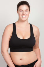 Breast Whisperer Bra for Natural Women in Black Front