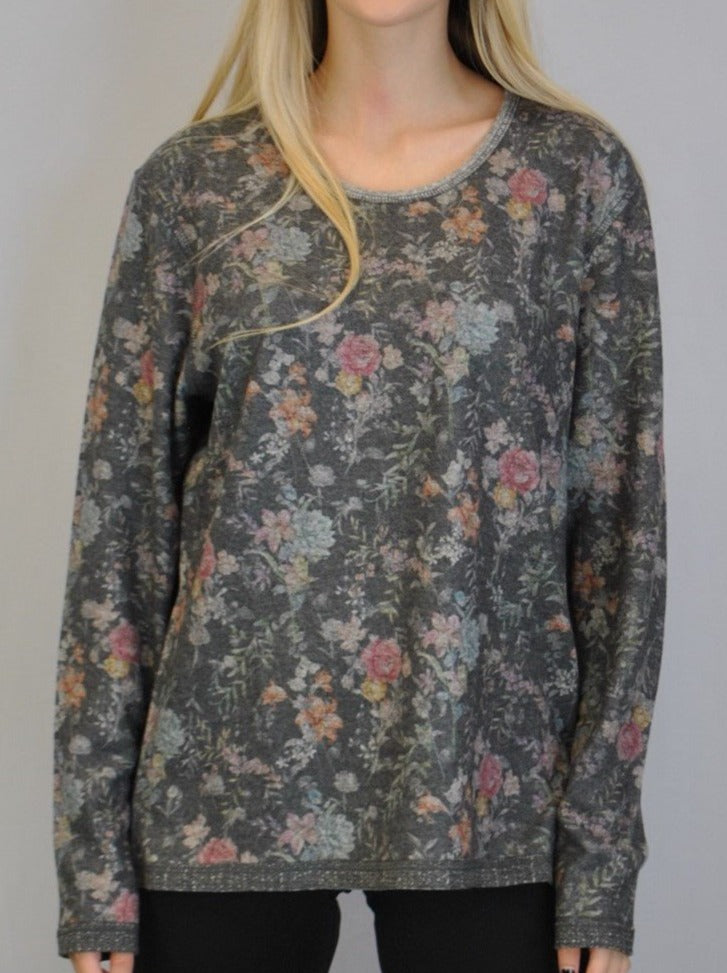 Reversible Floral Yummy Top