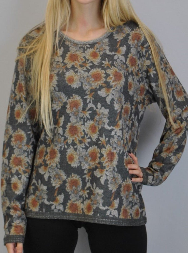 Reversible Sunflower Yummy Top