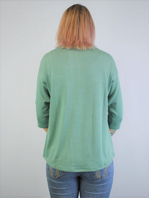 Dècoltè Adjustable Sleeve Top
