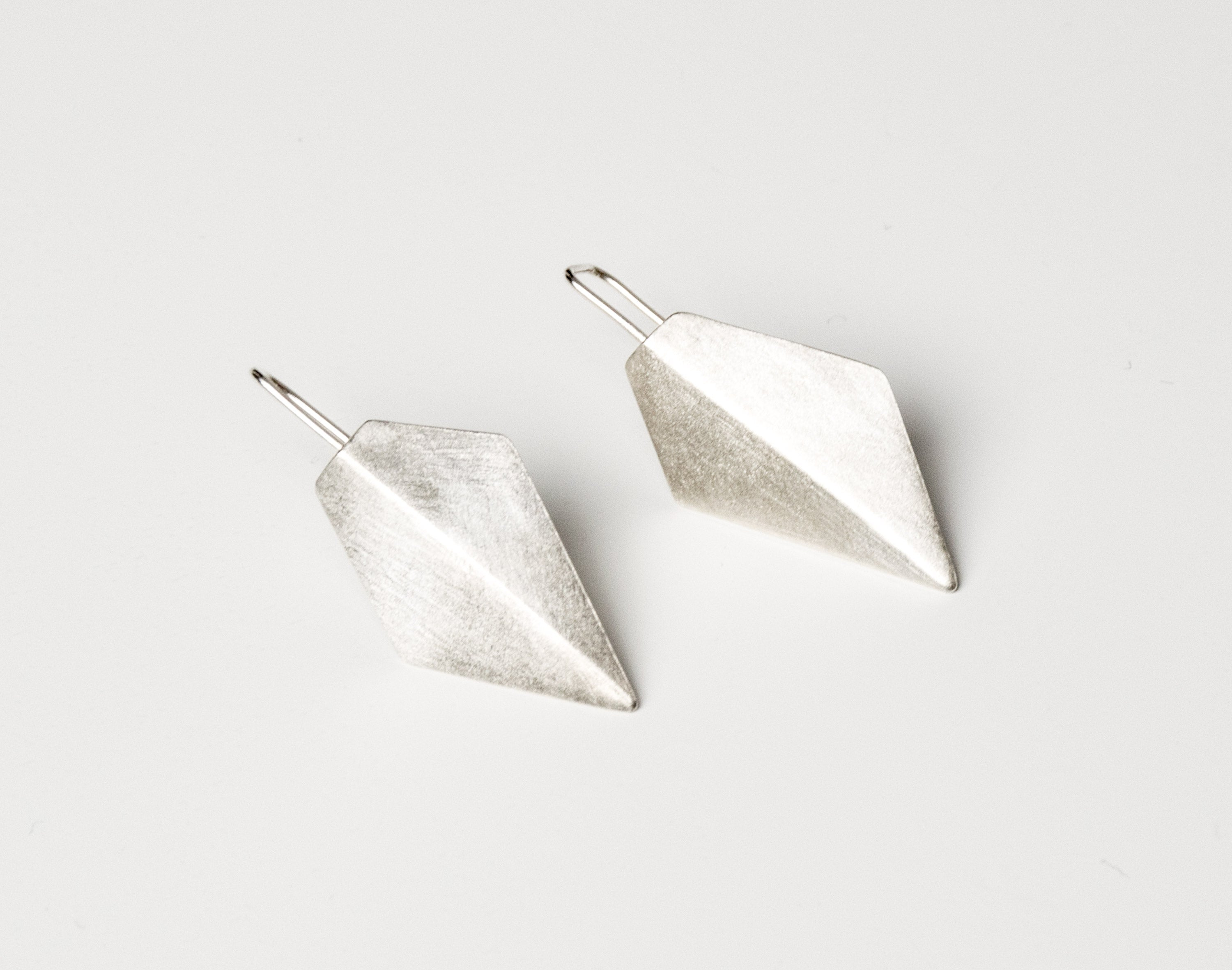 Folds earrings
