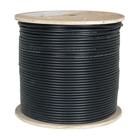 Cat6 Shielded Direct Burial Outdoor Cable, Gel Filled - 1000ft
