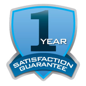 1 year satisfaction guarantee