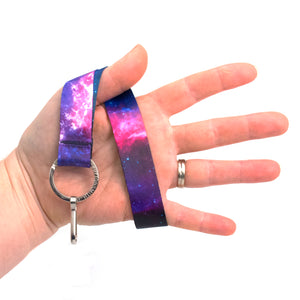 Buttonsmith Nebula Wristlet Lanyard - Made in USA