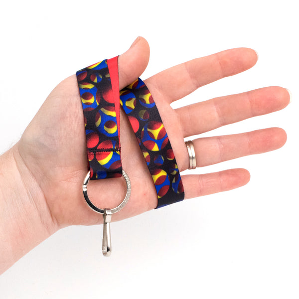 Buttonsmith Holes Wristlet Lanyard Made in USA