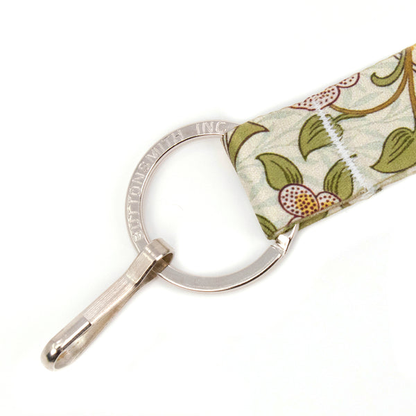 Buttonsmith William Morris Daffodil Wristlet Lanyard Made in USA