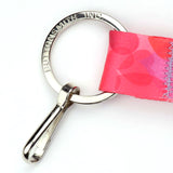 Buttonsmith Hearts Custom Lanyard Made in USA