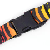 Buttonsmith Rainbow Zebra Lanyard - Made in USA