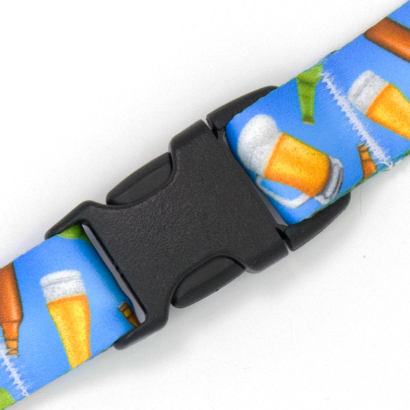 Buttonsmith Beer Breakaway Lanyard Made in USA - Buttonsmith Inc.